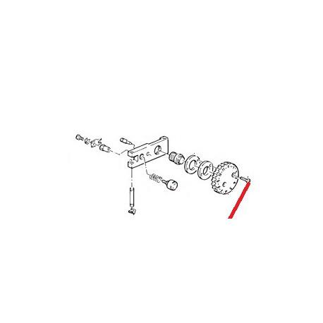 POIGNEE REGLAGE MOULIN ROUGE ORIGINE CIMBALI - PQ445