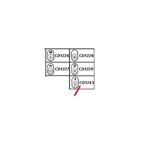 VOLANT ROBINET GAZ ORIGINE CIMBALI - PQ6789