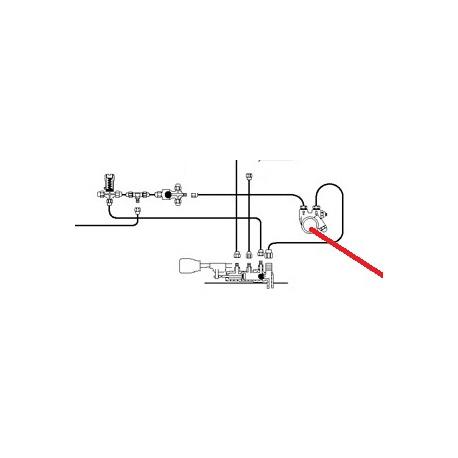 TUBE POMPE-CHAUDIERE ORIGINE CIMBALI - PQ6711