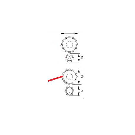 PIGNON MOTOREDUCTEUR Z32 ORIGINE CIMBALI - PQ6683