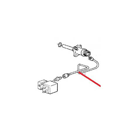 TUYAU MELANGEUR ELECTROVANNE ORIGINE CIMBALI - PQ6639