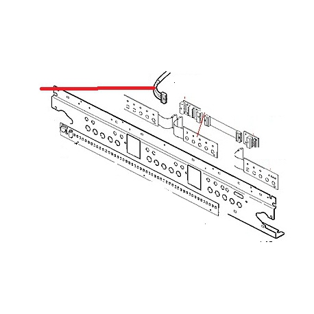 MEMBRANE 5T CABLE A DROITE M32 ORIGINE CIMBALI - PQ6810