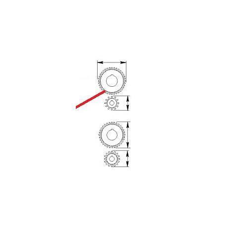 PIGNON MOTOREDUCTEUR Z12 ORIGINE CIMBALI - PQ6681