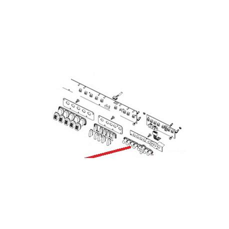 CARTE TOUCHE PROGRAMMATION ORIGINE CIMBALI - PQ6975
