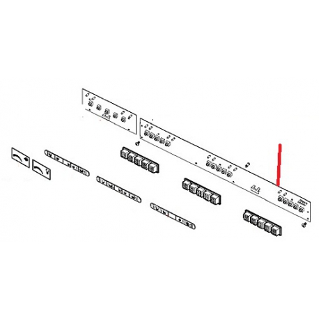 CARTE A LED SELECTION M32R ORIGINE CIMBALI - PQ6827