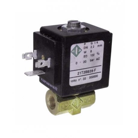 IQN6012-ELECTROVANNE ECO 2V 1/4 230W