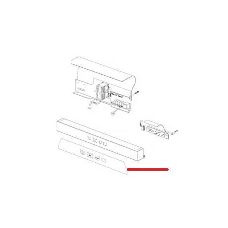 PLASTRON COMMANDE NIAGARA 281 ORIGINE ITW - RQ6680