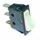 INTERRUPTEUR 30X11MM  BLANC 0-1 LUMINEUX 250V 16A - TIQ665583