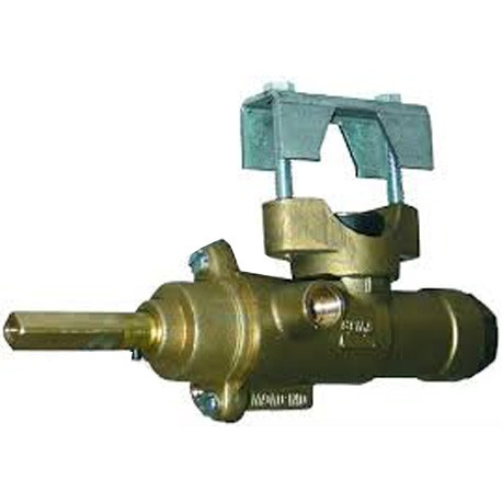 ROBINET GAZ POUR FOUR 121GTS FIXATION A BRIDE SORTIE 1/4M - EBFQ657