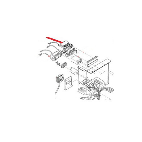 TRANSFORMATEUR 220/24/28V 50W - MQN855