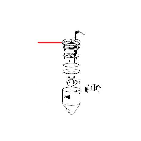 COUVERCLE PORTE-TOUCHES AVEC - ZEQ44