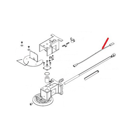 CABLE LONGEUR 20MM COSSE PLATE - FQ6402