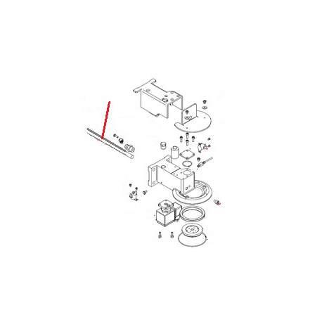 RESISTANCE DE GROUPE 300W 230V ORIGINE SIMONELLI - FQ6441