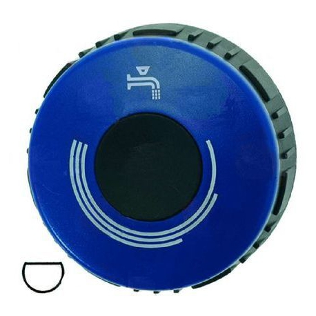 MANETTE BLEUE D75MM AXE 10/8MM ORIGINE DESCO - TIQ10934