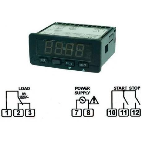 MINUTERIE EVERY CONTROL EVK701D7E REG 1-99H 59MIN - TIQ10050