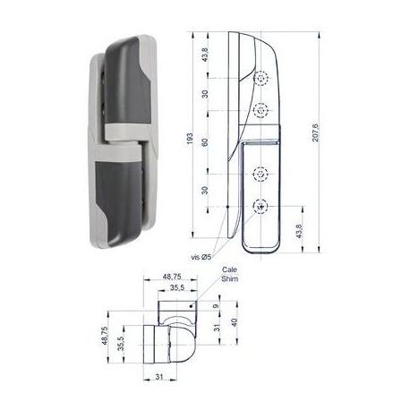 SEQ017-CHARNIERE COMPOSITE HP AVEC