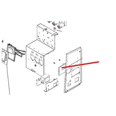 CIRCUIT IMPRIME PRINCIPAL XL ORIGINE BRAVILOR - OENQ40