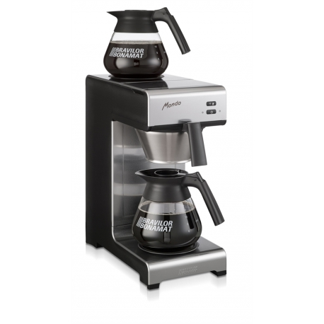 MACHINE A CAFE MONDO 2 230V NOIR/INOX - IQ7206