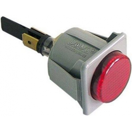 LAMPE TEMOIN ROUGE - TIQ9504