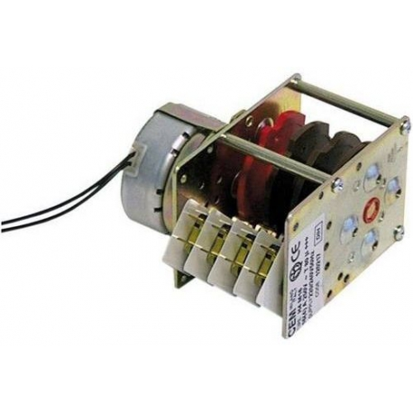 PROGRAMMATEUR CEM 230V 4CAMES 180SEC 1 MOTEUR ORIGINE - TIQ9694