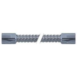 FLEXIBLE DOUCHETTE L:1100MM ØINT:8MM INOX ENTREE 1/2F SORTIE