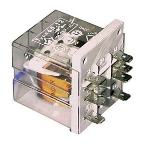 RELAIS 230V/50HZ 16A 2 POLES - TIQ0716