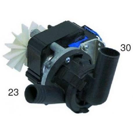 POMPE VIDANGE 100W 0.13HP 230V 50HZ ENTREE 25MM  - TIQ1348