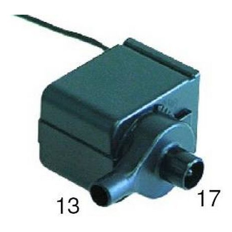 POMPE 12VAC 9W 420L/H STAFF C25/C35/C50 ORIGINE STAFF - TIQ1404
