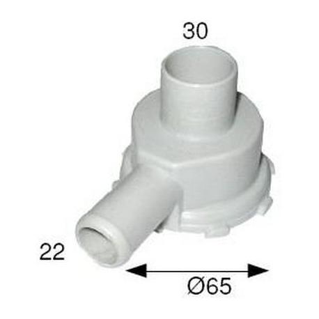 FLASQUE DE POMPE 30X22 DROIT - TIQ1446