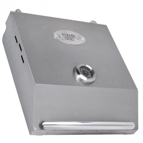 COUVERCLE PLANCHA 600 A CHARNIERE AVEC THERMOMETRE L:810MM - EYQ8464