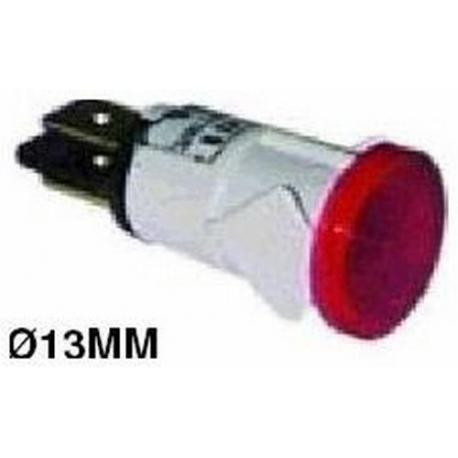 VOYANT ROUGE 13MM 220V ORIGINE - UQ459