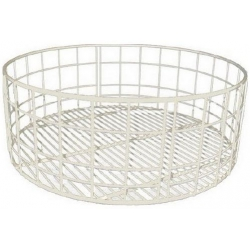 PANIER ROND 355X140X280MM MAILLE LARGE