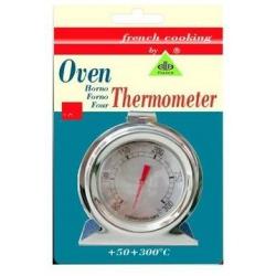 THERMOMETRE FOUR EN INOX Ø50MM TMINI 0°C TMAXI 300°C