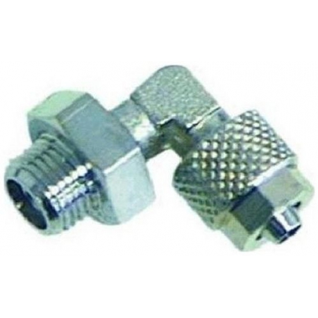 RACCORD COUDE 1/4M 6X8MM - ITQ393