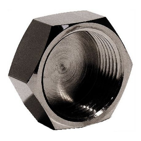 BOUCHON F 1' CHROME ORIGINE - MNQ673