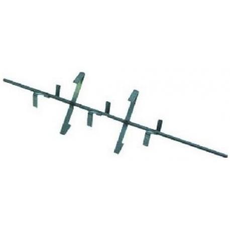 AXE 3 PALETTES L:360MM ORIGINE - TIQ4214