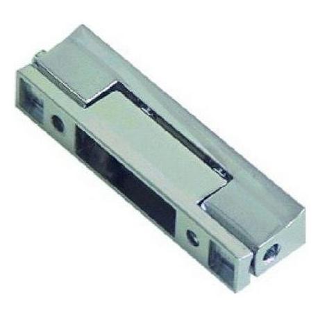 CHARNIERE SANS RAMPE L:100MM L:24MM ENTRAXE 41/70MM - TIQ4406