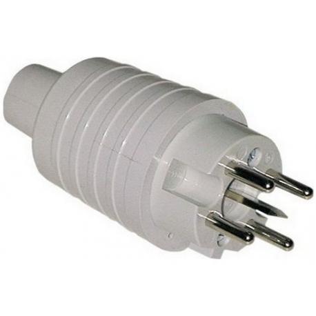 PRISE PERILEX PVC GRIS IP44 - TIQ3242