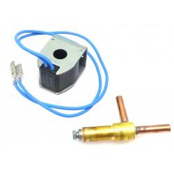 ELECTROVANNE GAZ 2VOIES 220V AC ENTREE 6.2MM SORTIE 6.2MM - TIQ70215