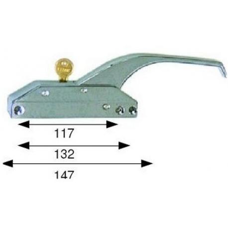 FERMETURE 147MM AVEC CLE - TIQ4094