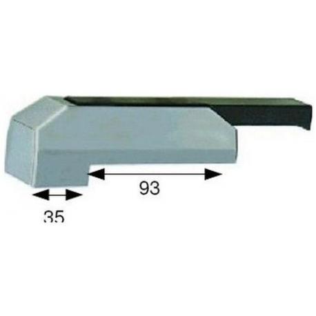 FERMETURE DE PORTE GAUCHE/DROITE SANS CLE L:180MM H:44.5MM - TIQ4960