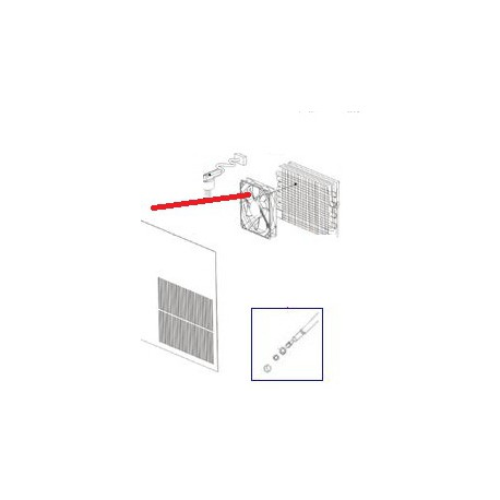 CABLE EQUIPEE 230V ORIGINE BARTSCHER - ONEQ18