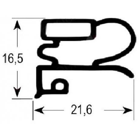 TIQ65124-JOINT DE PORTE 390X640MM 1/1