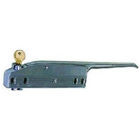 TIQ4844-POIGNEE PORTE 168MM AVEC CLE
