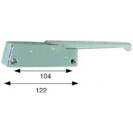 POIGNEE DE PORTE 122MM - TIQ4090