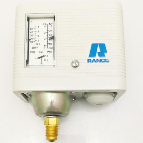 PRESSOSTAT RANCO 016H6703 BP 0.6 A 4 BARS A VISSER IP44 ORIG - TIQ3895