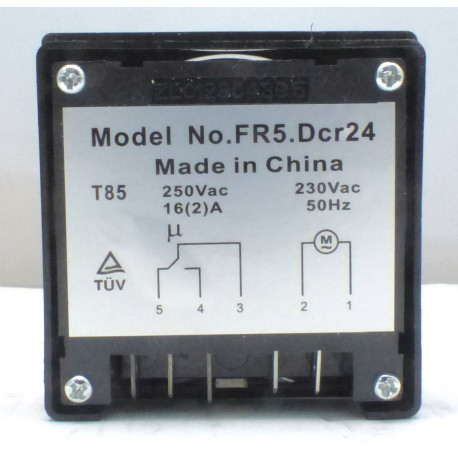 HORLOGE DEGIVRAGE 230VAC DCR- - TIQ9707