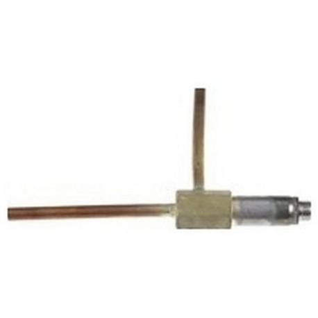 CORPS-ELECTROVANNE GAZ RACCORD A SOUDER 6MM ORIGINE - VGQ99