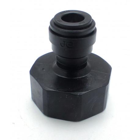 UNION 3/4 POUR TUBE 6/8 DROIT BSP FOND PLAT - IQN6714
