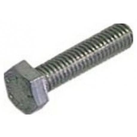 BOULON M6X16 INOX TETE 10MM - TIQ3420